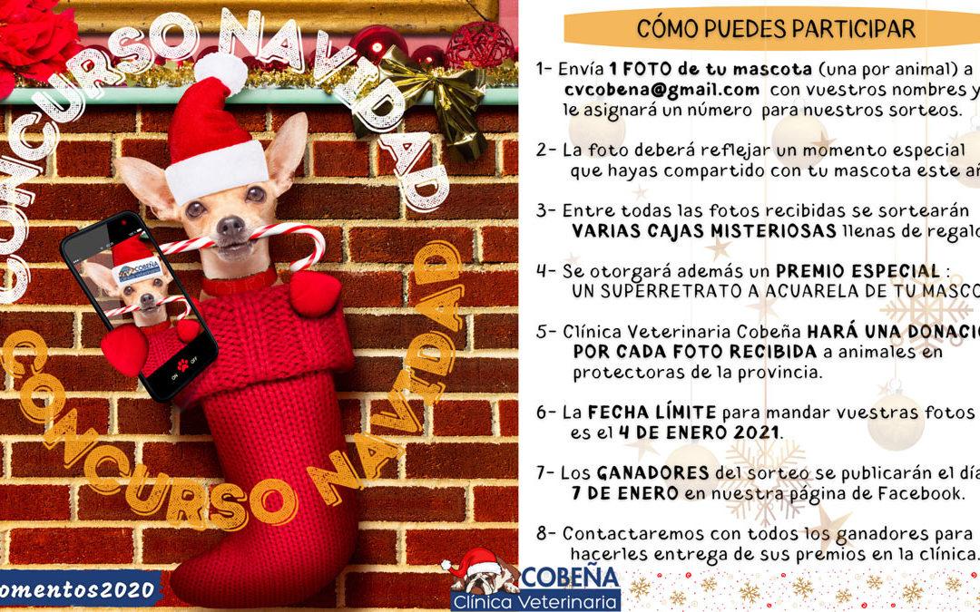 CONCURSO NAVIDAD C.V.COBEÑA #Momentos2020